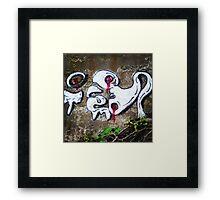 Over Grown Wall Framed Print