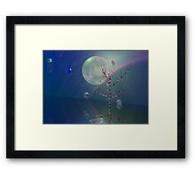 Drops of life Framed Print