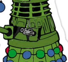 Dalek the Halls Sticker