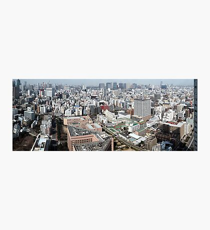 Tokyo, Japan (Poster size panorama!) Photographic Print