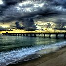 Pompan beach fishing pier by joemc
