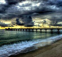 Pompan beach fishing pier by joemc