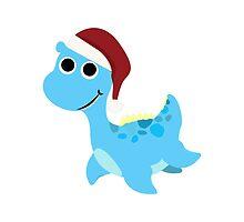 Santa Nessie by Eggtooth