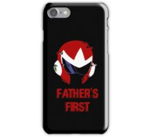 Father's First iPhone Case/Skin
