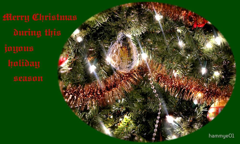 Merry Christmas card by hammye01