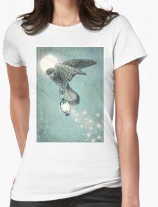 Nighthawk (portrait format) Womens Fitted T-Shirt