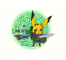 Linkachu - Hyrule Warriors Art Print