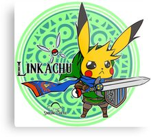Linkachu - Hyrule Warriors Metal Print