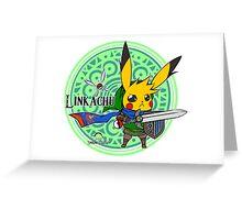 Linkachu - Hyrule Warriors Greeting Card