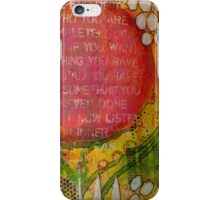 Floating Wisdom iPhone Case/Skin