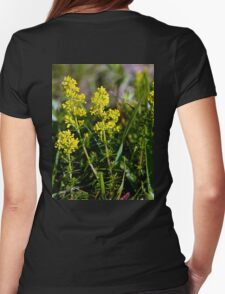 Galium Verum (Lady's Bedstraw), Inishmore, Aran Islands Womens Fitted T-Shirt