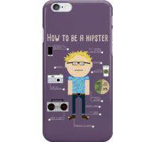 How To Be A Hipster iPhone Case/Skin