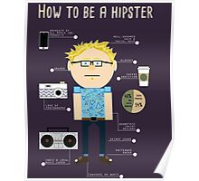 How To Be A Hipster Poster