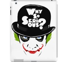 Why So Serious Graffiti Edit iPad Case/Skin