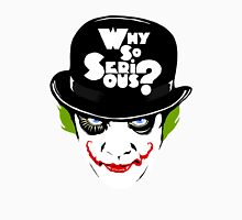 Why So Serious Graffiti Edit Unisex T-Shirt