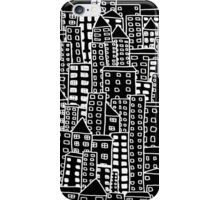 Cityscape Doodling #2 iPhone Case/Skin
