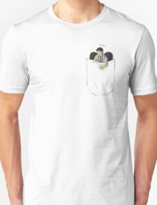 Pocket Cas with Wings Unisex T-Shirt