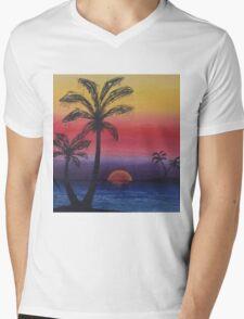 Palms Mens V-Neck T-Shirt