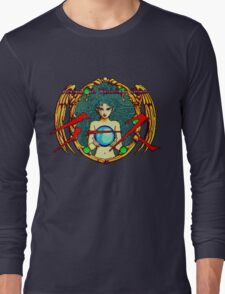Ys (Turbografx) Title Screen Long Sleeve T-Shirt