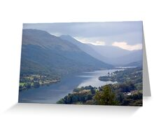 Loch Voil in the Trossachs Greeting Card