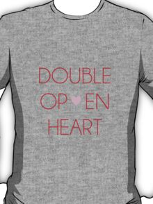 Double Open Heart || Zankyou no Terror T-Shirt