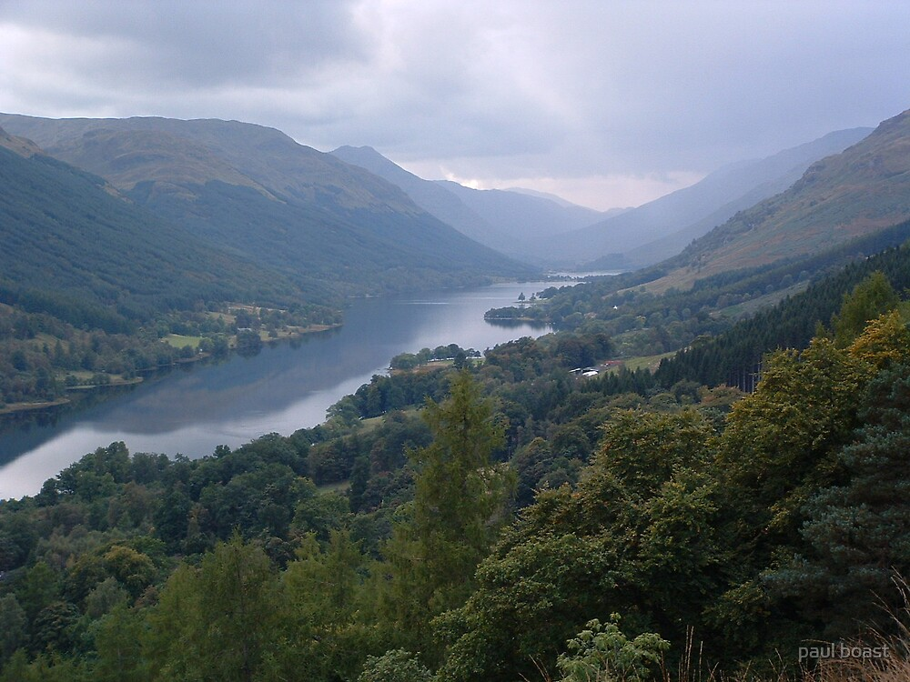 Loch Voil in the Trossachs/another perspective by paul boast