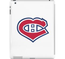 Habs in my Heart iPad Case/Skin