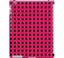 Punch Hole Grid Design iPad Case/Skin