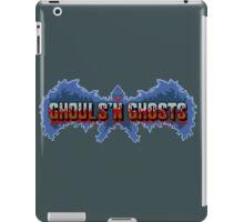 Ghouls' N Ghosts (Genesis) Title Screen iPad Case/Skin