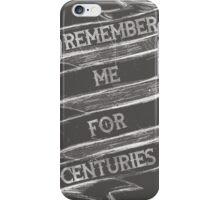 Centuries iPhone Case/Skin