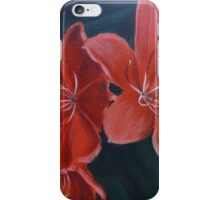 Red Day Lily iPhone Case/Skin