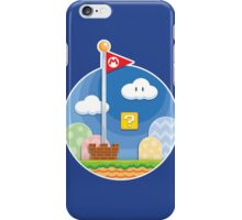 Mario Was Here iPhone Case/Skin