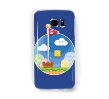Mario Was Here Samsung Galaxy Case/Skin