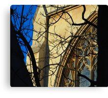 Gothic Church Canvas Print