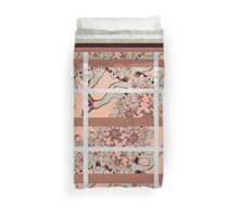 PINK and BEIGE KING DOUVET Duvet Cover