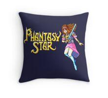 Phantasy Star (Genesis) Title Screen Throw Pillow