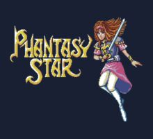 Phantasy Star (Genesis) Title Screen by AvalancheShirts