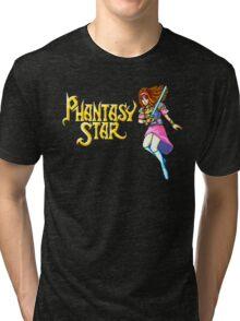 Phantasy Star (Genesis) Title Screen Tri-blend T-Shirt