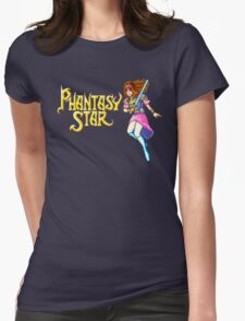 Phantasy Star (Genesis) Title Screen Womens Fitted T-Shirt