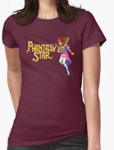 Phantasy Star (Genesis) Title Screen Womens Fitted T-Shirt