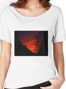Sunrise In The Rockies Women's Relaxed Fit T-Shirt