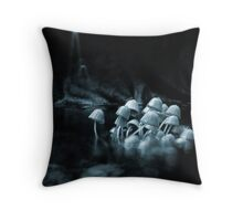 The Cold Journey Throw Pillow
