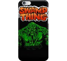 Swamp Thing (Nes) Title Screen iPhone Case/Skin