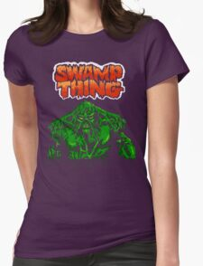 Swamp Thing (Nes) Title Screen Womens Fitted T-Shirt