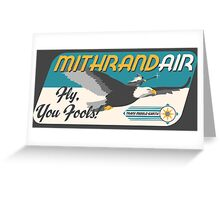 MithrandAIR Greeting Card