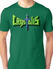 Crystalis (Nes) Title Screen Unisex T-Shirt