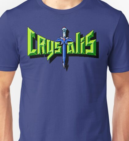 Crystalis (Nes) Title Screen Unisex T-Shirt