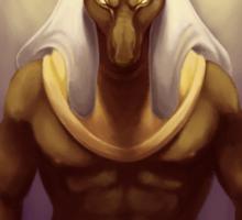 Anubis, God of Embalming Sticker