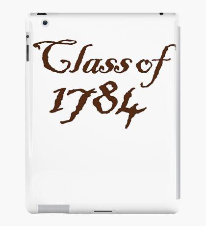 Class of 1784 iPad Case/Skin