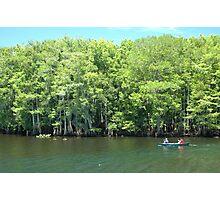 Canoeing the Suwannee River Photographic Print